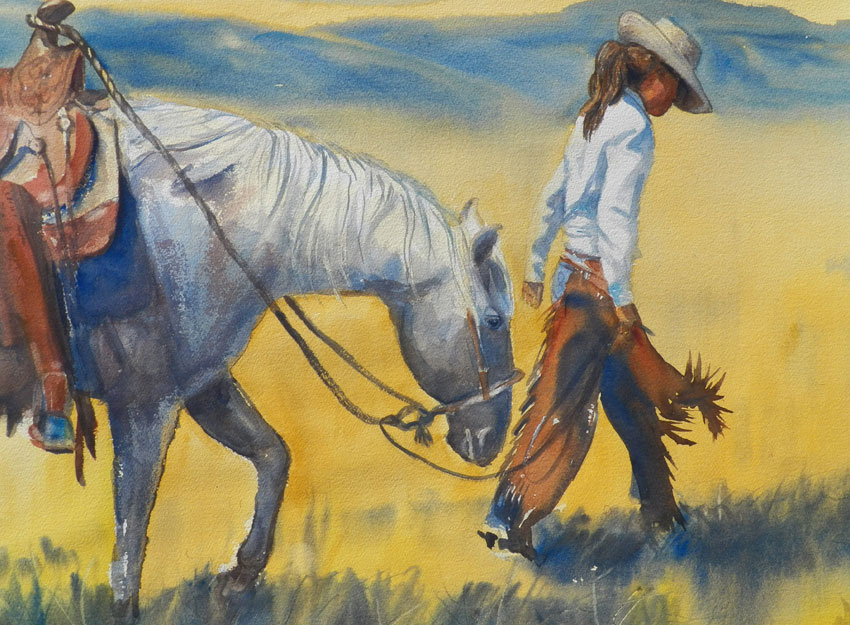 Art By Robin Rogers Cloud Western And Plein Air Painter